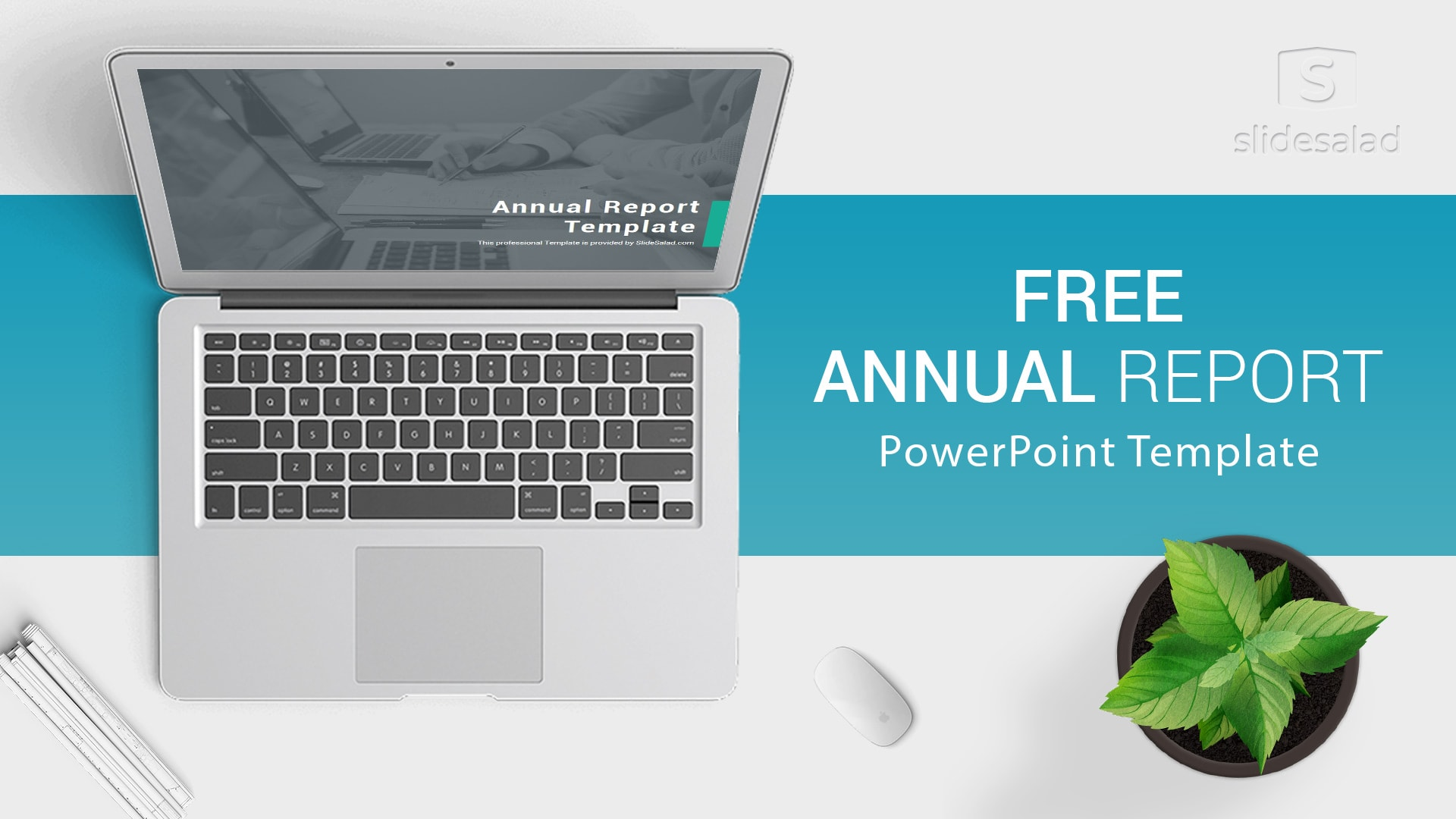 Annual Report PowerPoint Template for Presentations – Trending Free Charts, Statistics and Graphs PPT Templates