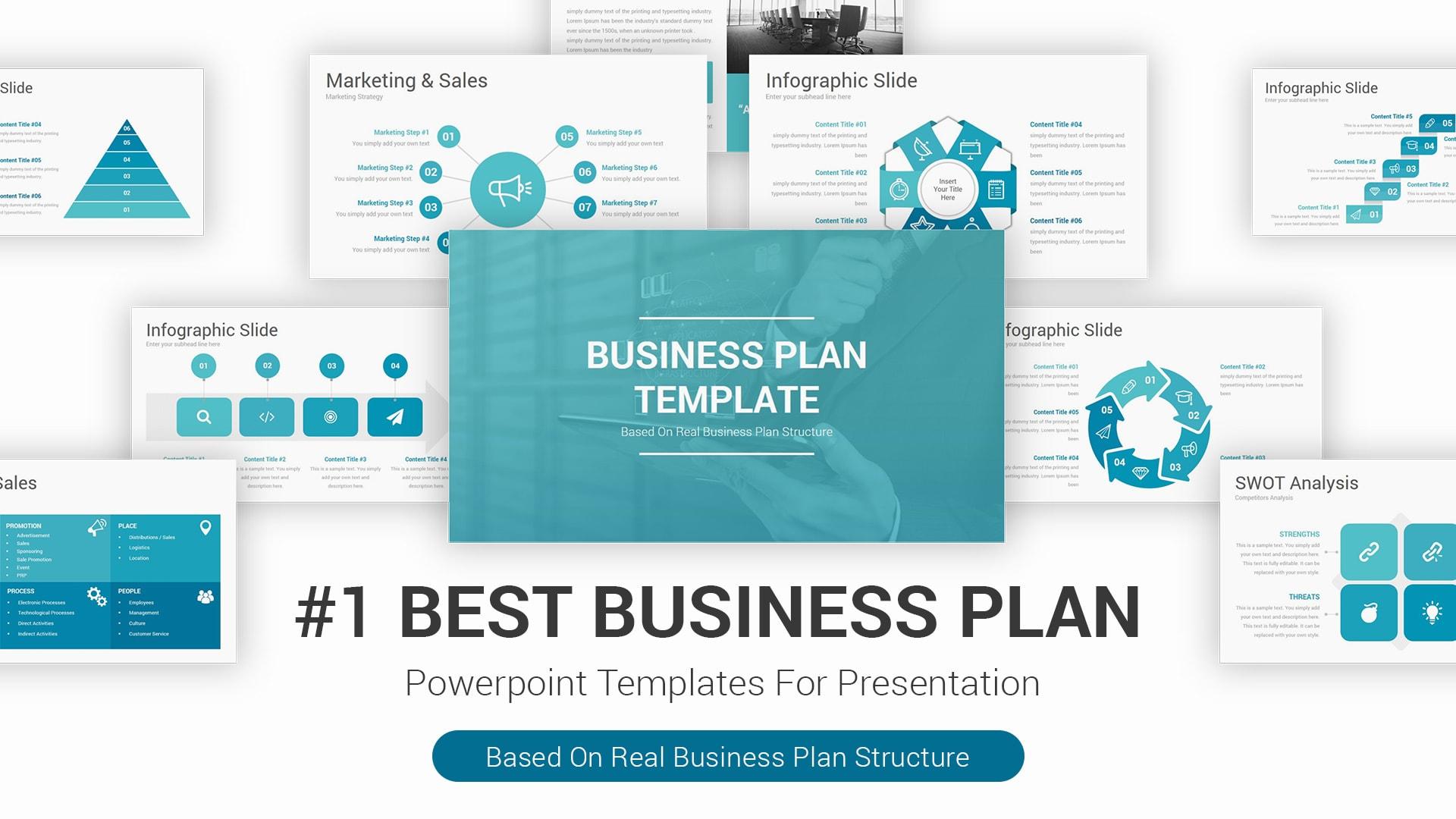 Best Business Plan PowerPoint Presentation Template – Marketing Firm Presentation Template