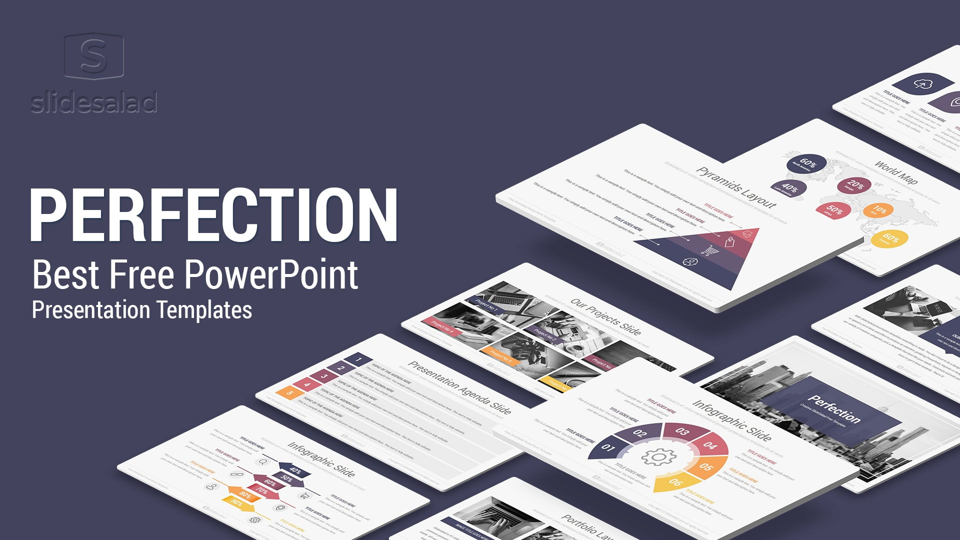 Perfection – Best Free PowerPoint Template for Perfectionists