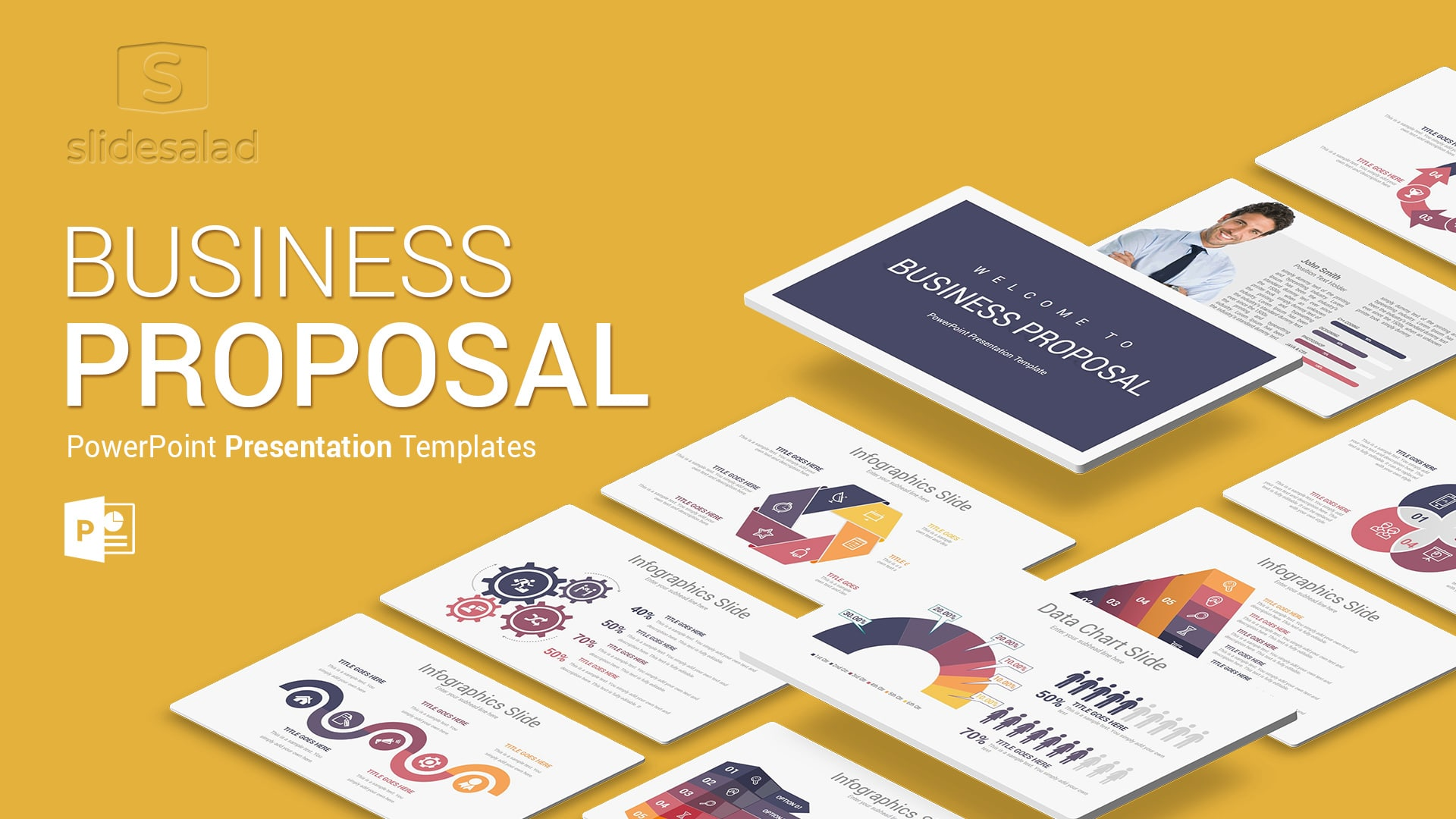 Business Proposal PowerPoint Presentation Template – Amazing Animates PPT Themes
