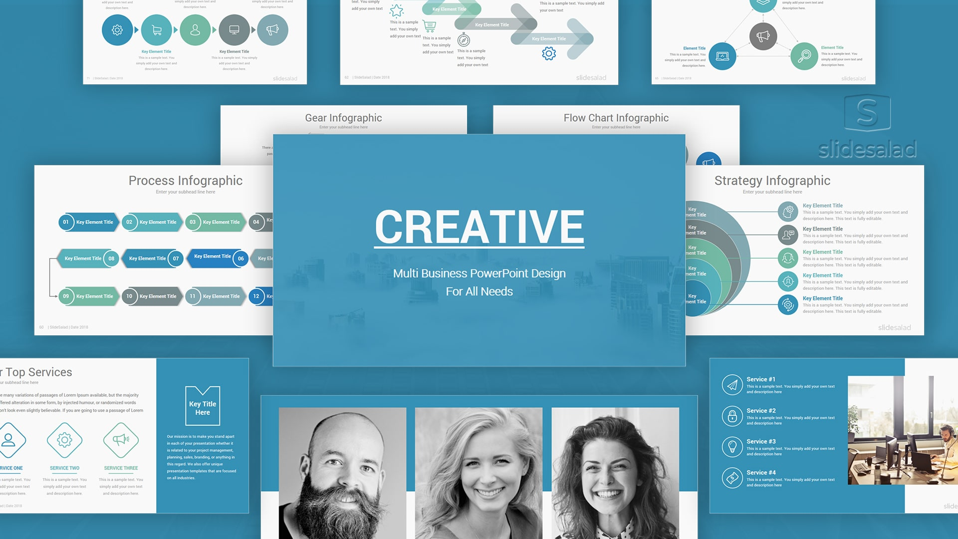Creative Business PowerPoint Templates – Attractively Animated PPT Templates
