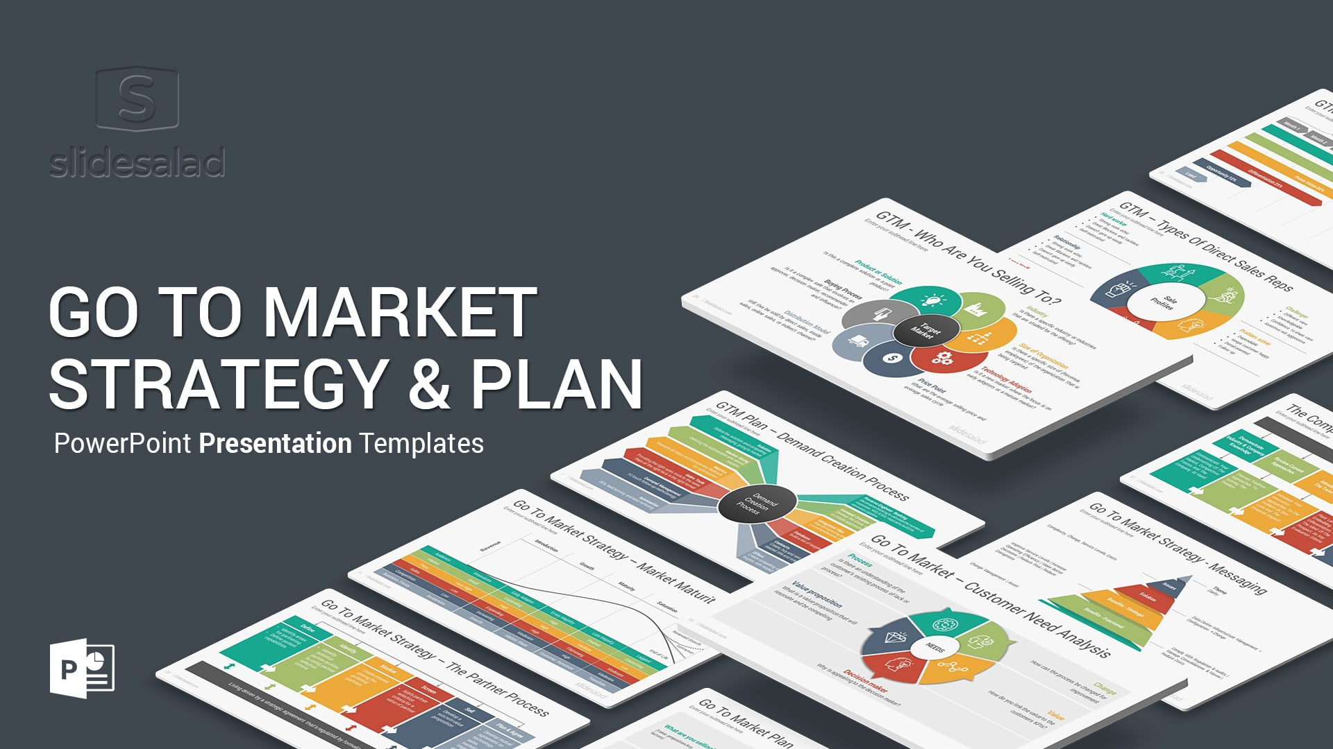 Go To Market Strategy and Plan PowerPoint Templates Diagrams – PowerPoint PPT Plan Template