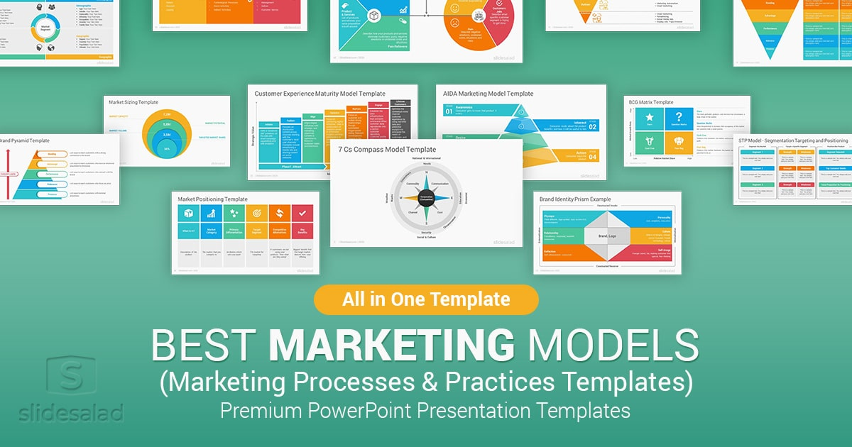 Best Marketing Models and Practices PowerPoint Templates – Marketing Communication PowerPoint Template