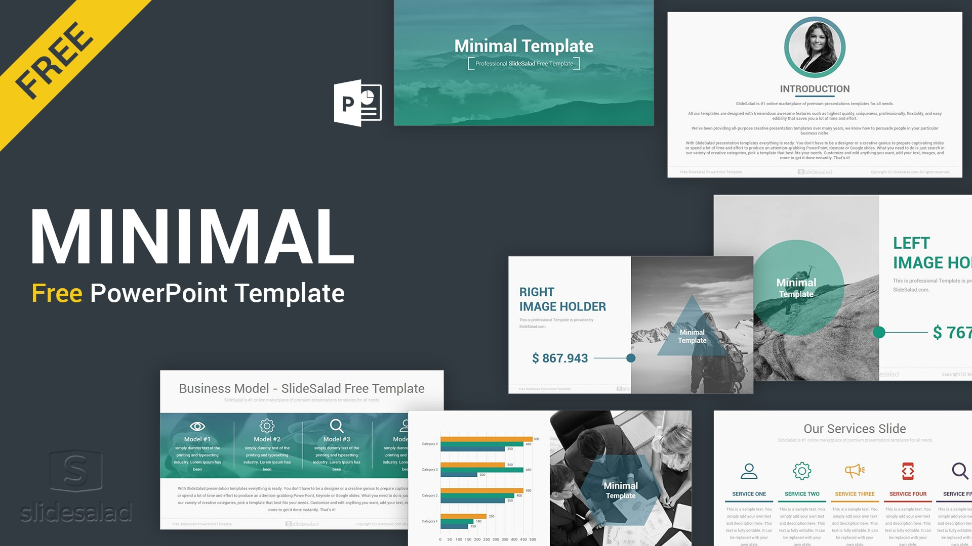 Minimal Free PowerPoint Presentation Templates – Best Free Stunning PPT Template for Multipurpose Presentations