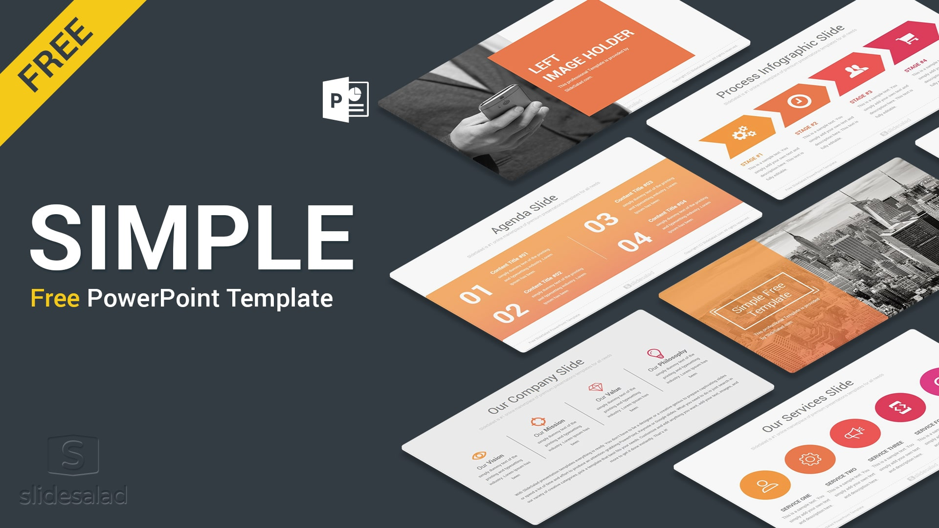 Simple Free PowerPoint Presentation Templates – Top Minimalist PPT Template for Comprehensive Presentations