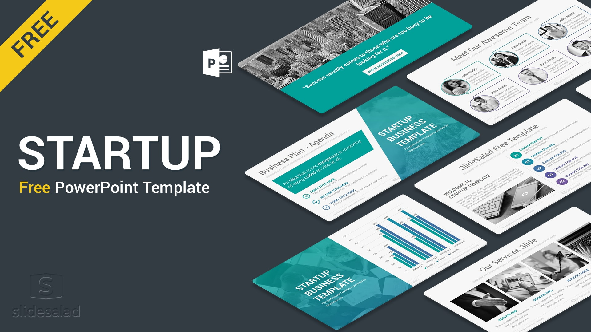 Startup Free PowerPoint Presentation Templates – Best Free Innovative PPT Themes for Startup Projects & Entrepreneurs