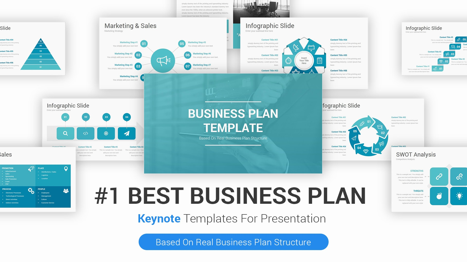Best Business Plan Keynote Template for Presentations – Simple Mac Keynote Presentation Template