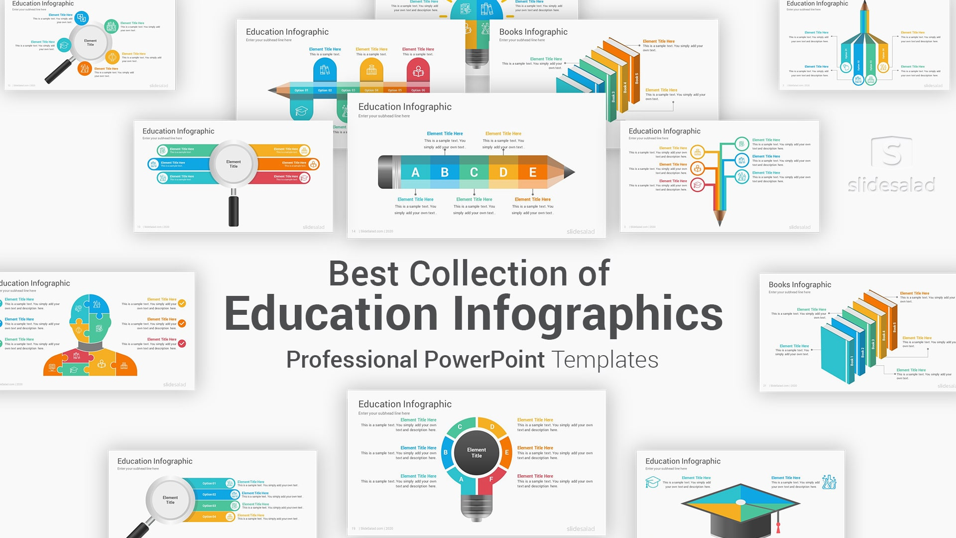 Education Infographics PowerPoint Template for Presentations – Ultimate PowerPoint Graphic Template
