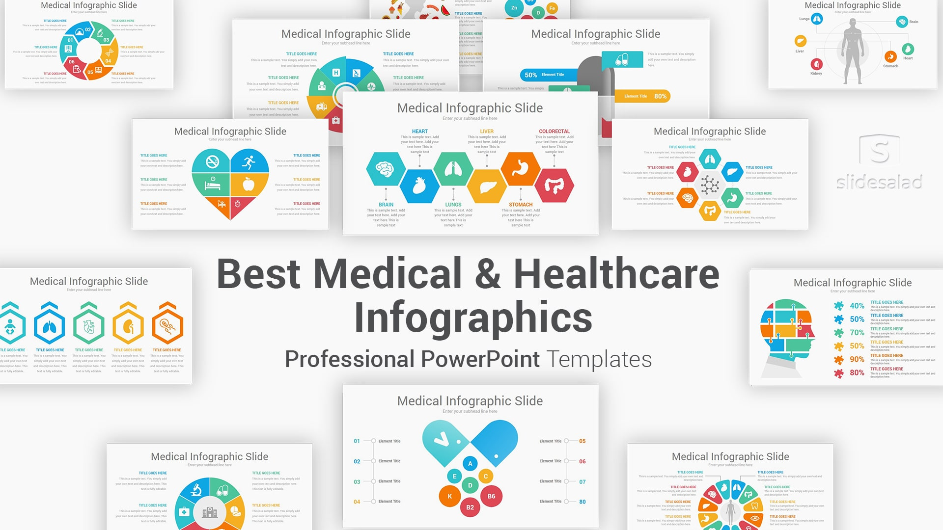 Medical and Healthcare Infographics PowerPoint Template – Best PowerPoint Infographic Templates