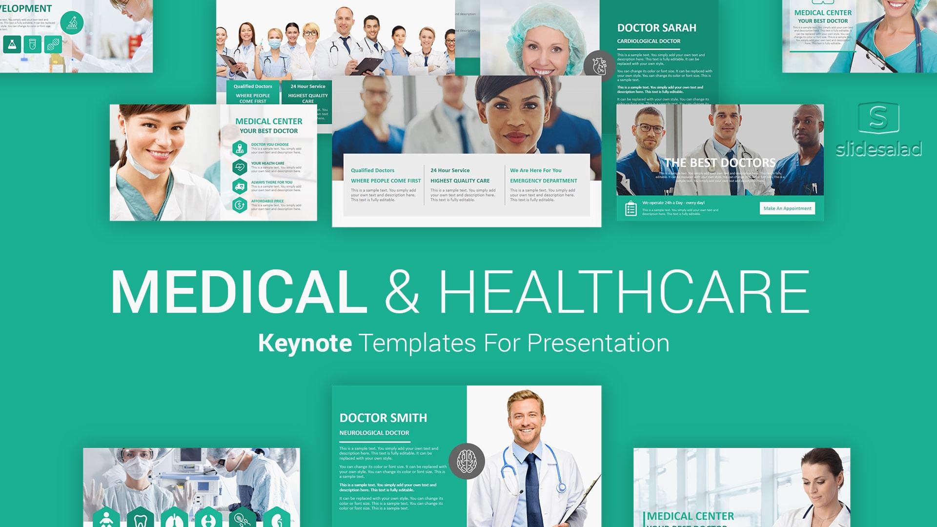 Medical Healthcare Keynote Presentation Template – Versatile Mac Keynote Template