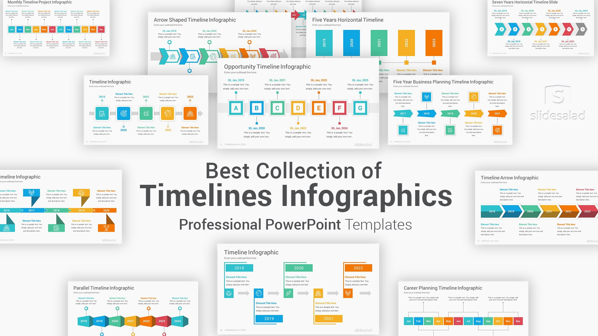 Best Timelines Infographics PowerPoint Template Diagrams – Fully Editable Infographics