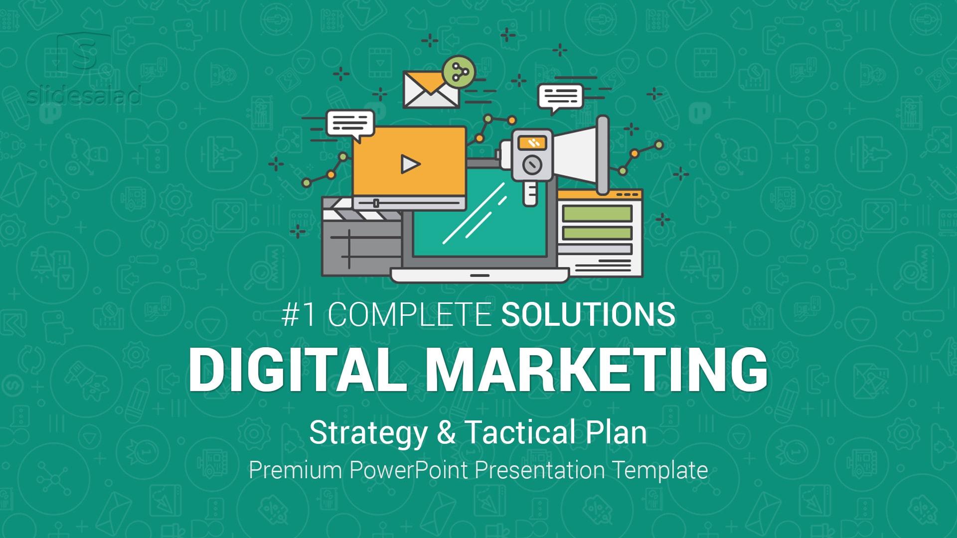 Best Digital Marketing PowerPoint (PPT) Template – Top Modern PowerPoint Presentation