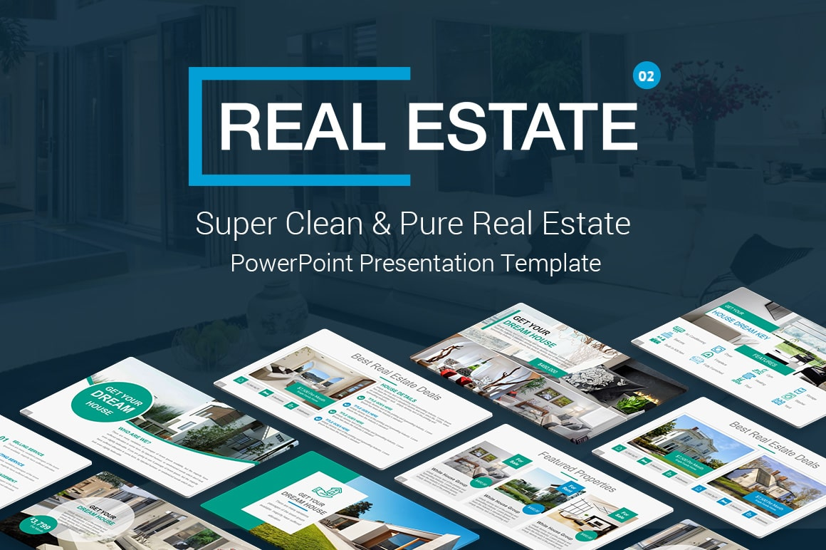 Real Estate PowerPoint Presentation Template and Themes – Comprehensive Real Estate PowerPoint TemplatesReal Estate Property PowerPoint Template – Multipurpose Real Estate PowerPoint Templates