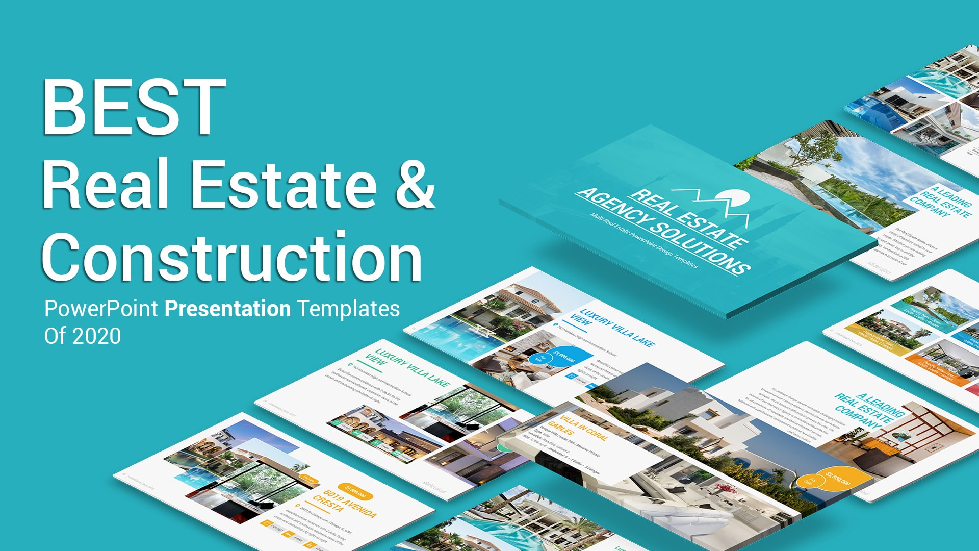 10+ Best Real Estate and Construction PowerPoint PPT Templates for Marketing Listings in 2020
