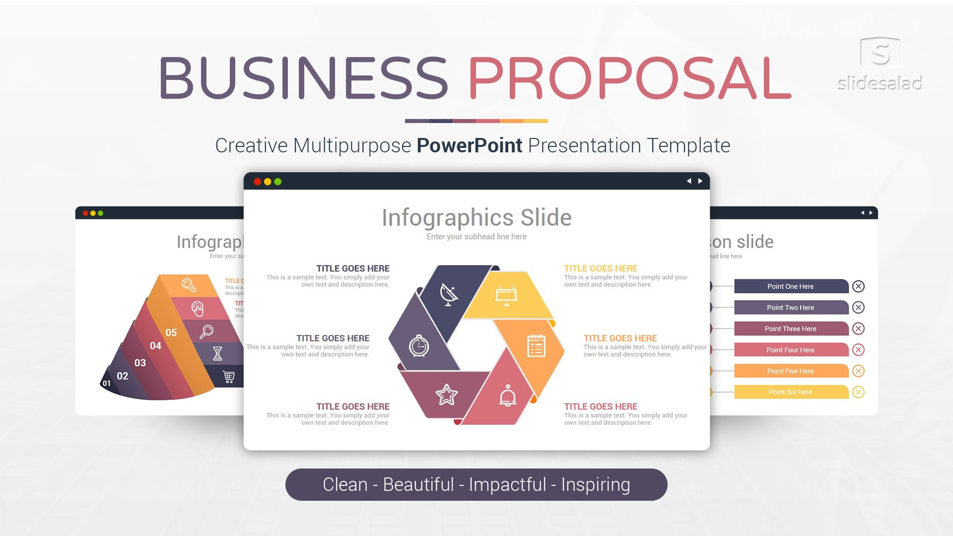 Business Proposal PowerPoint Presentation Template – Elegant PowerPoint Pitch Template Deck