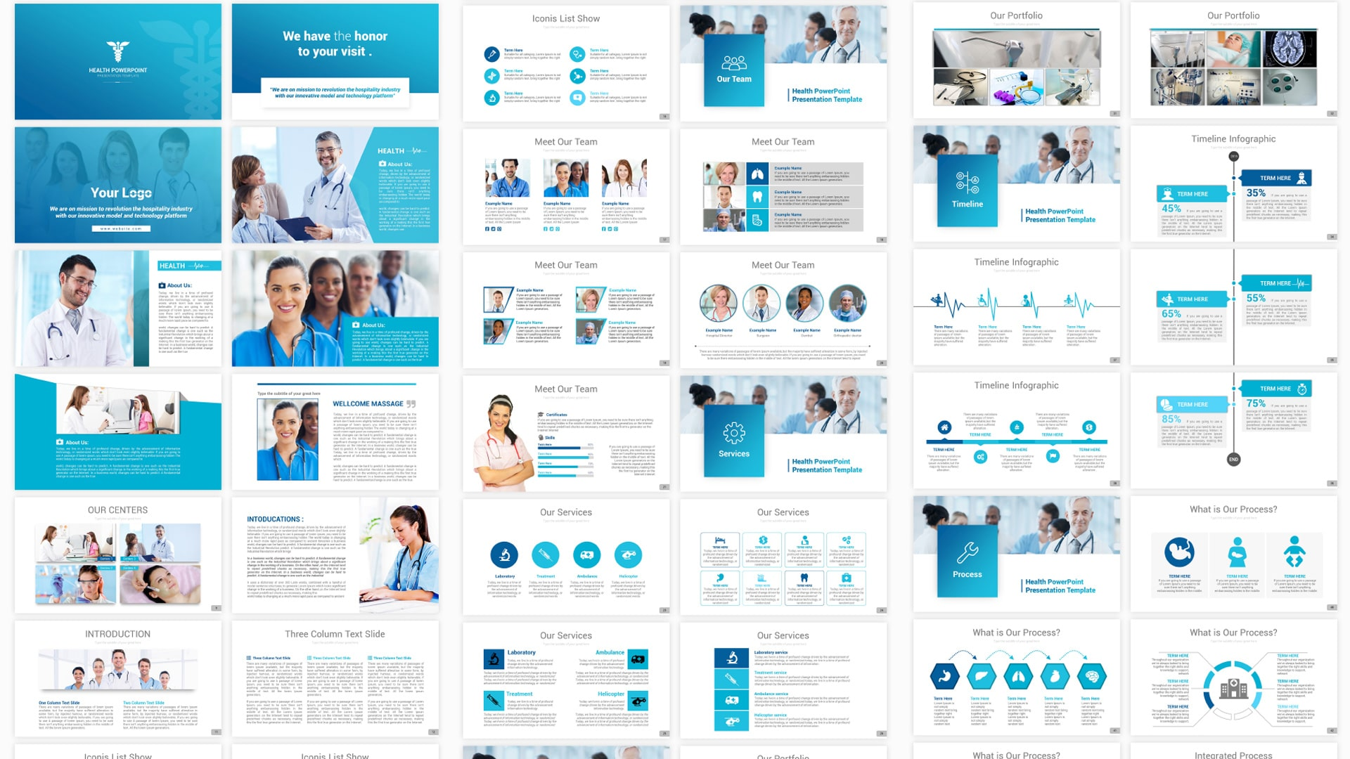 Stunning Healthcare PPT Presentation Templates – Pro Medical PowerPoint Design Template