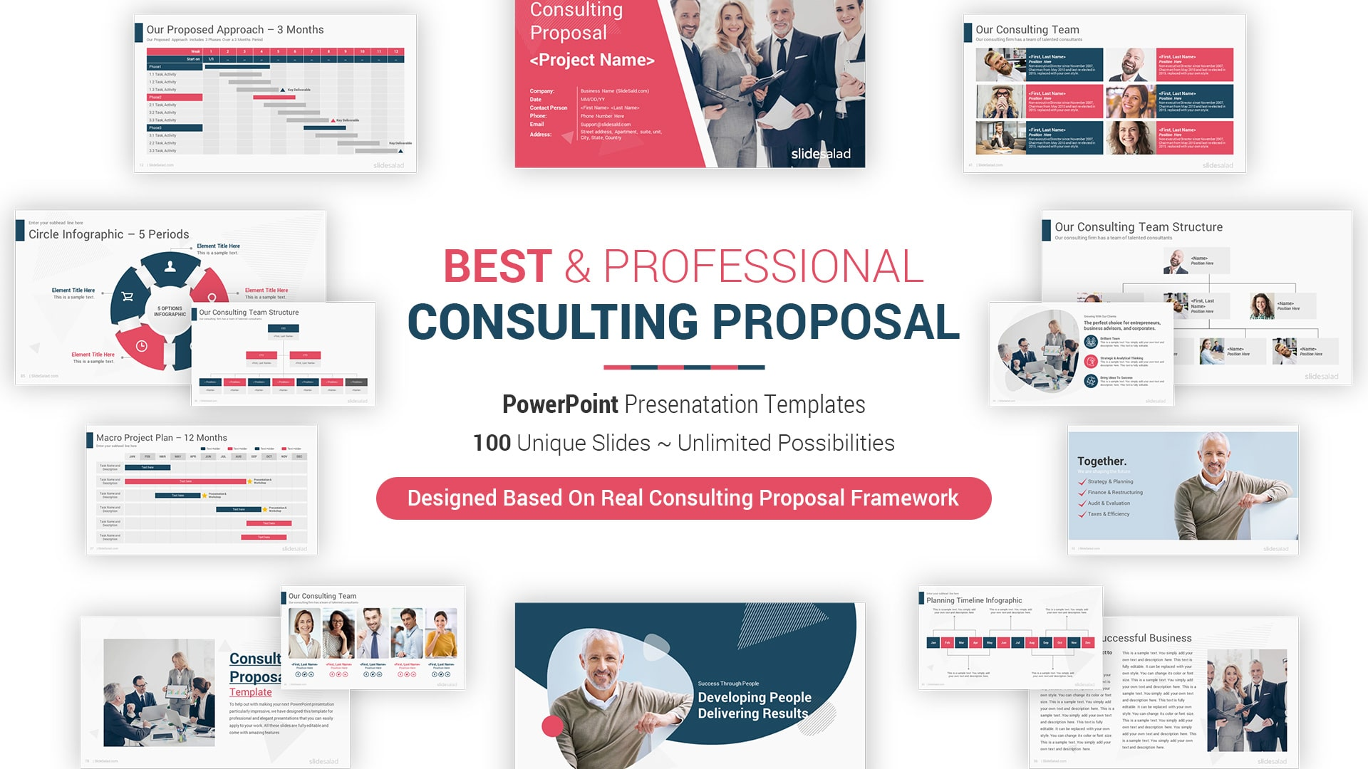 Best Consulting Proposal PowerPoint Template – Best Modern PPT Presentation Theme