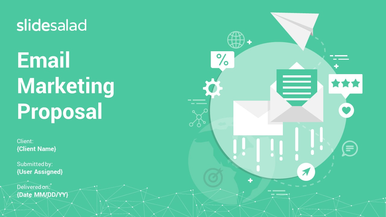 Email Marketing Proposal PowerPoint Templates – PowerPoint Business Pitch Deck