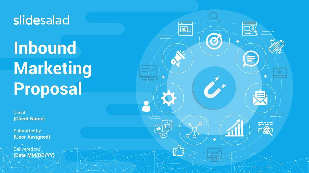 Inbound Marketing Proposal PowerPoint Templates – PowerPoint Slide Deck Template