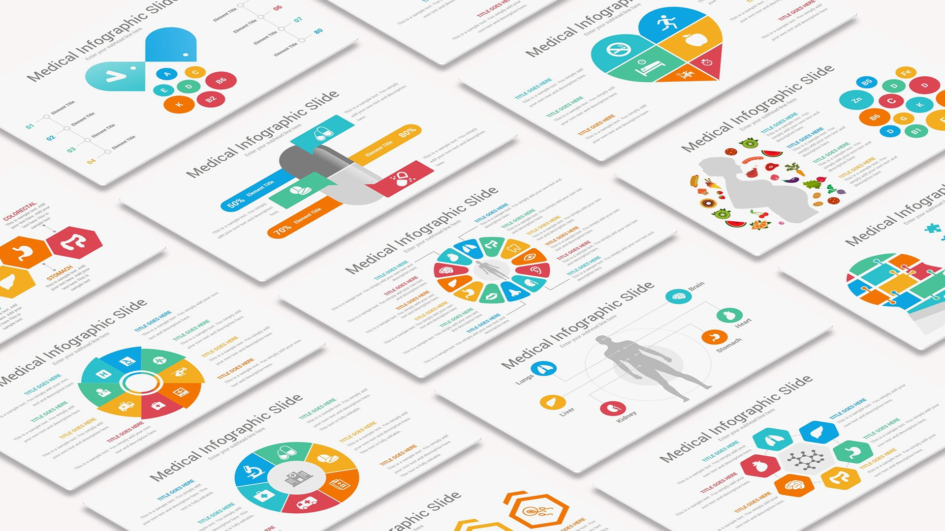 Best Medical and Healthcare Infographics PowerPoint Templates – Health Style PPT Template