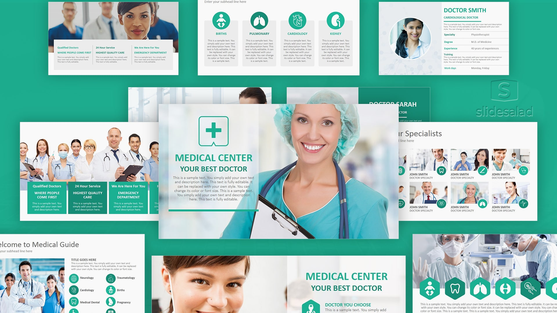 10 Best Medical Powerpoint Templates For Stunning Ppt Health Presentations 2020 Graphicgrand