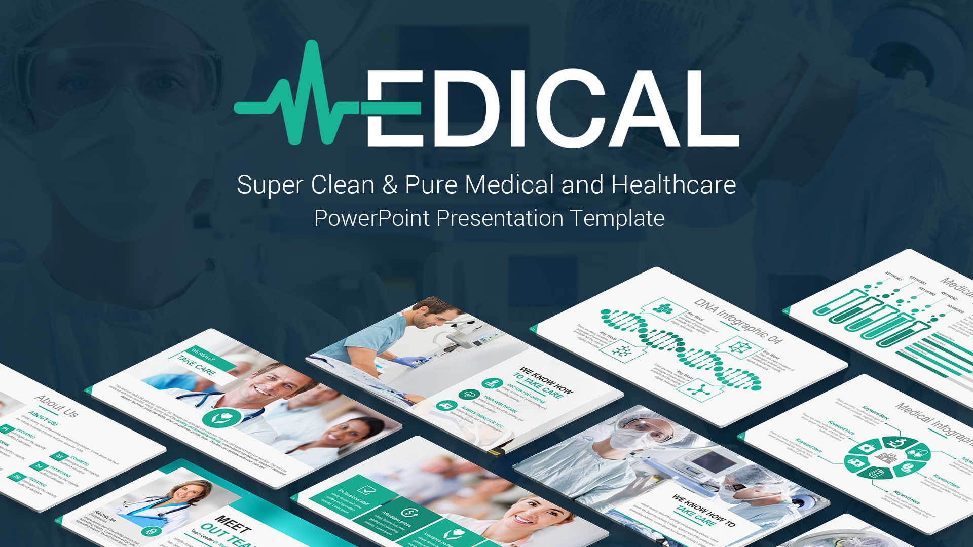Pro Medical PowerPoint Design Template – Professional PowerPoint Themes