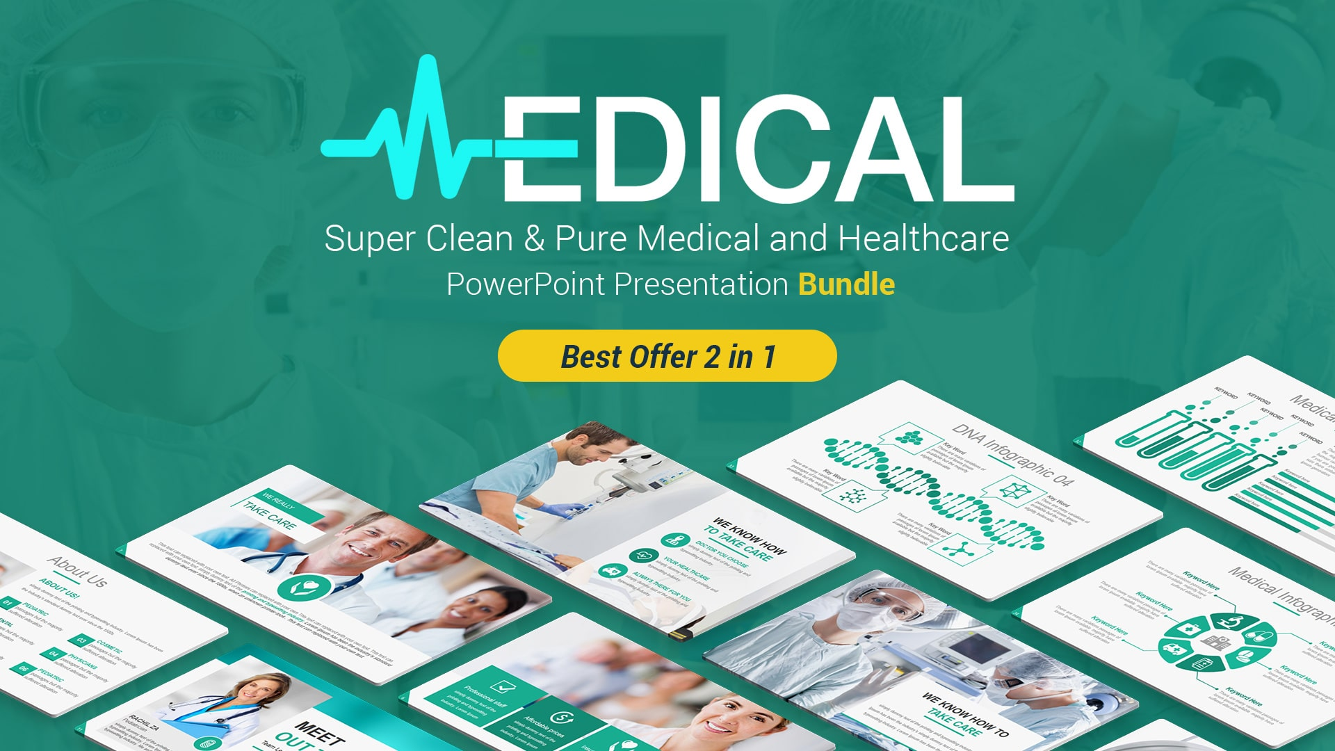 Best Selling Medical and Healthcare PowerPoint Themes and Backgrounds – Health PowerPoint Presentation Template