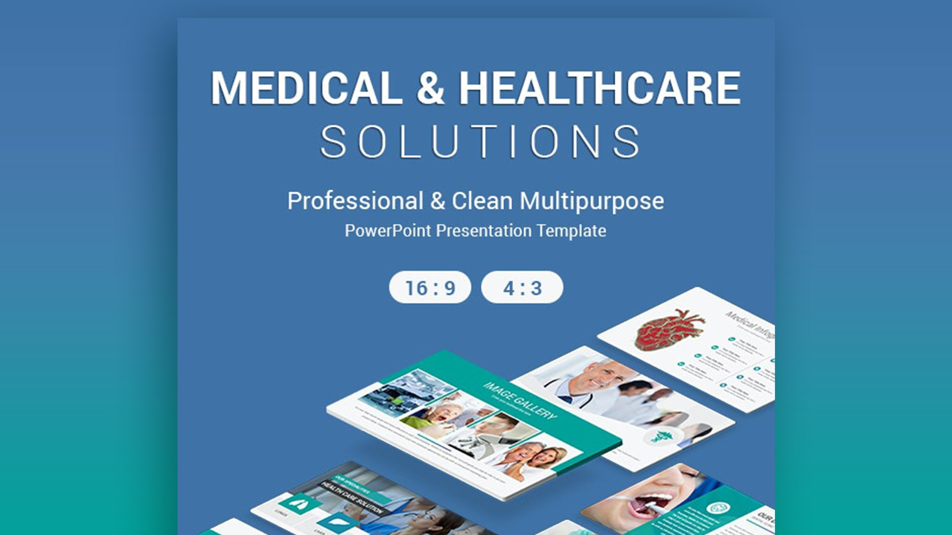 Medical and Healthcare Solutions PowerPoint Template – Top Medical PowerPoint Templates