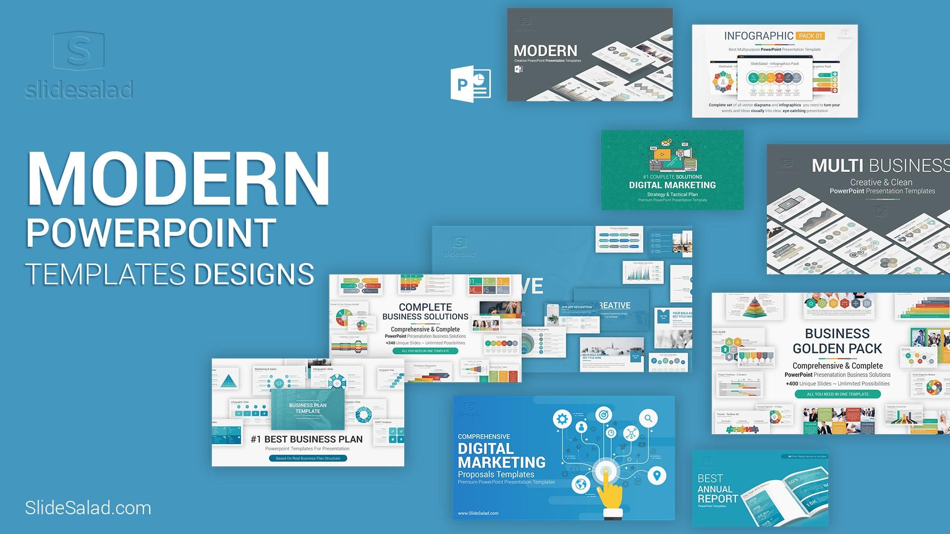 20 Modern Powerpoint Templates Presentations Design In 2021 Graphicgrand