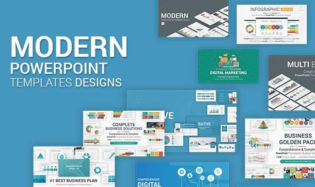 Modern PowerPoint Templates Presentations Design