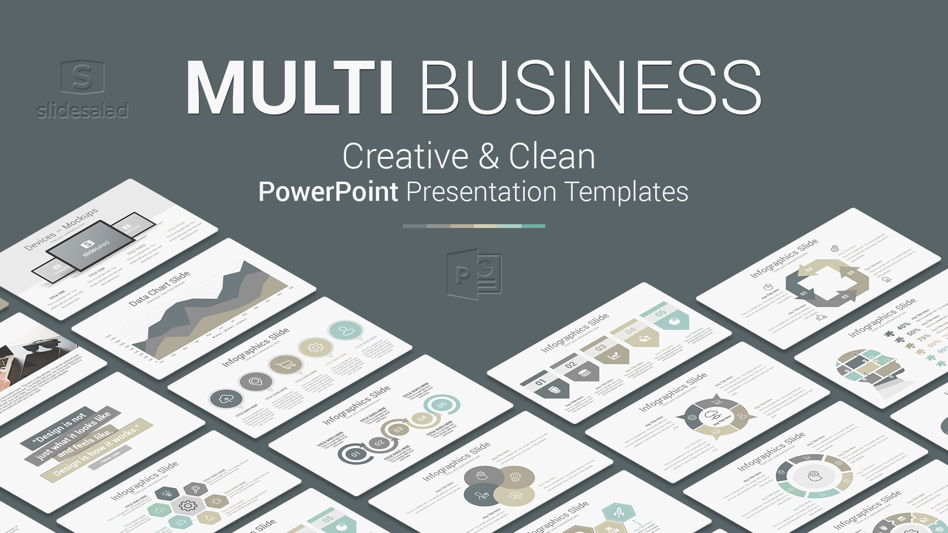 Multi Business PowerPoint Presentation Template – Professional PowerPoint PPT Design