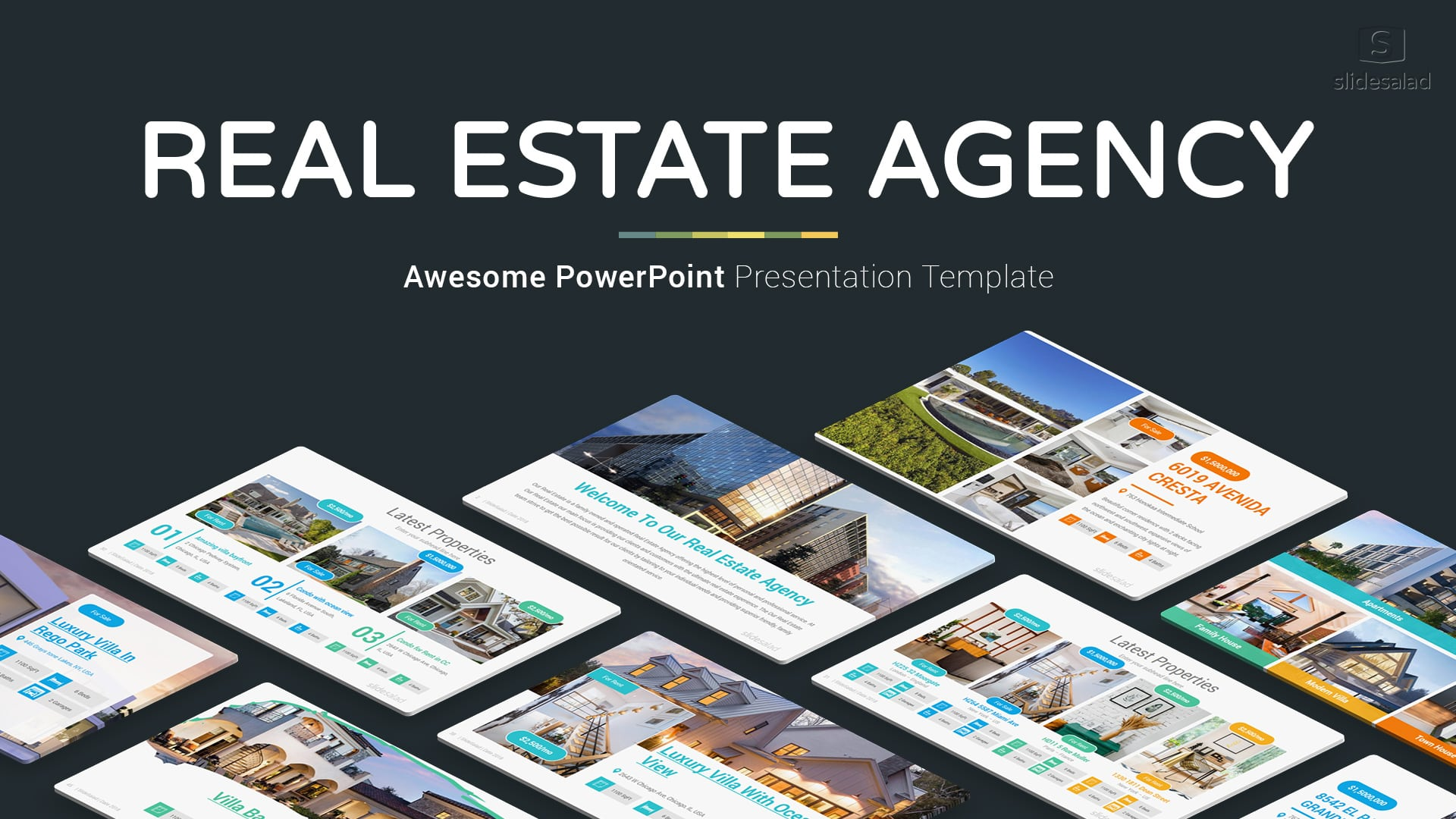 Real Estate Agency PowerPoint Template Designs – Real Estate PowerPoint Presentation Slides