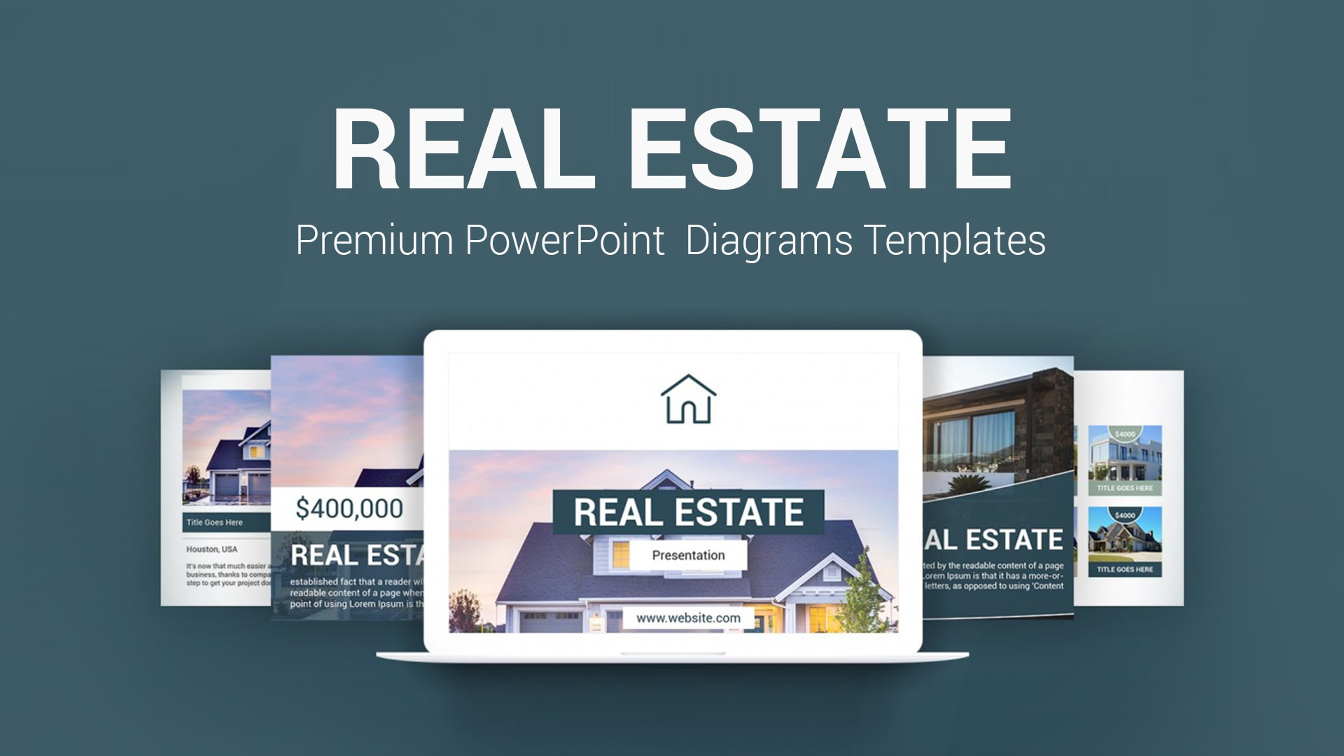 Real Estate PowerPoint Template – Real Estate Business Templates for Brokers, Agents, and Agencies