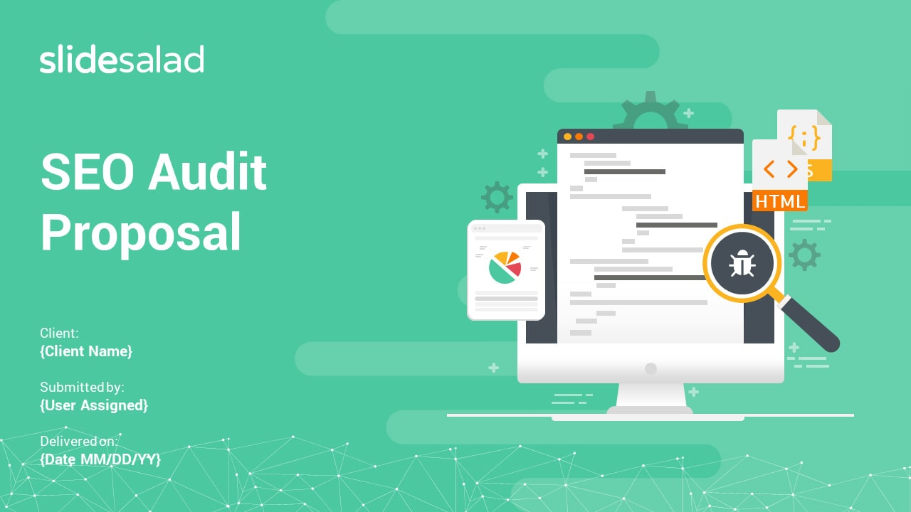 SEO Audit Proposal PowerPoint Templates – Search Engine Optimization Proposal PowerPoint Template