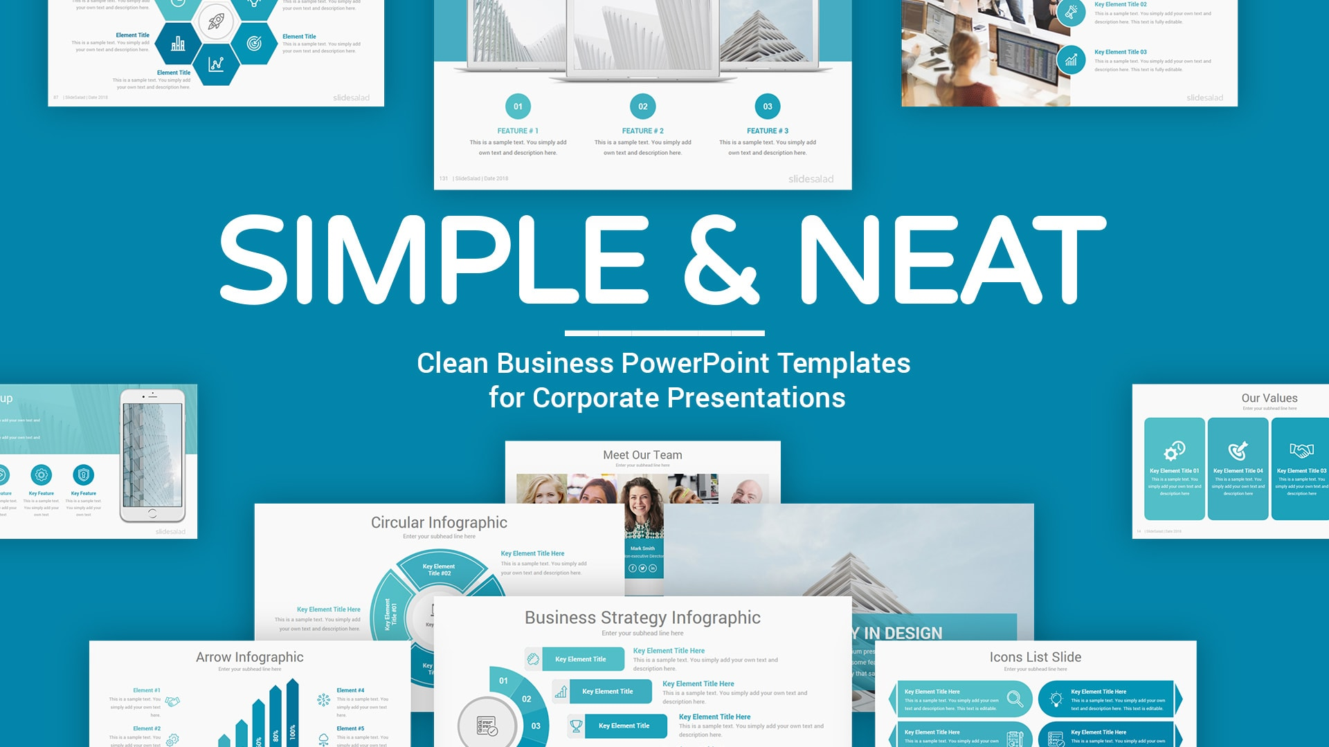 Simple PowerPoint Presentation Template – Effective Modern PPT Design