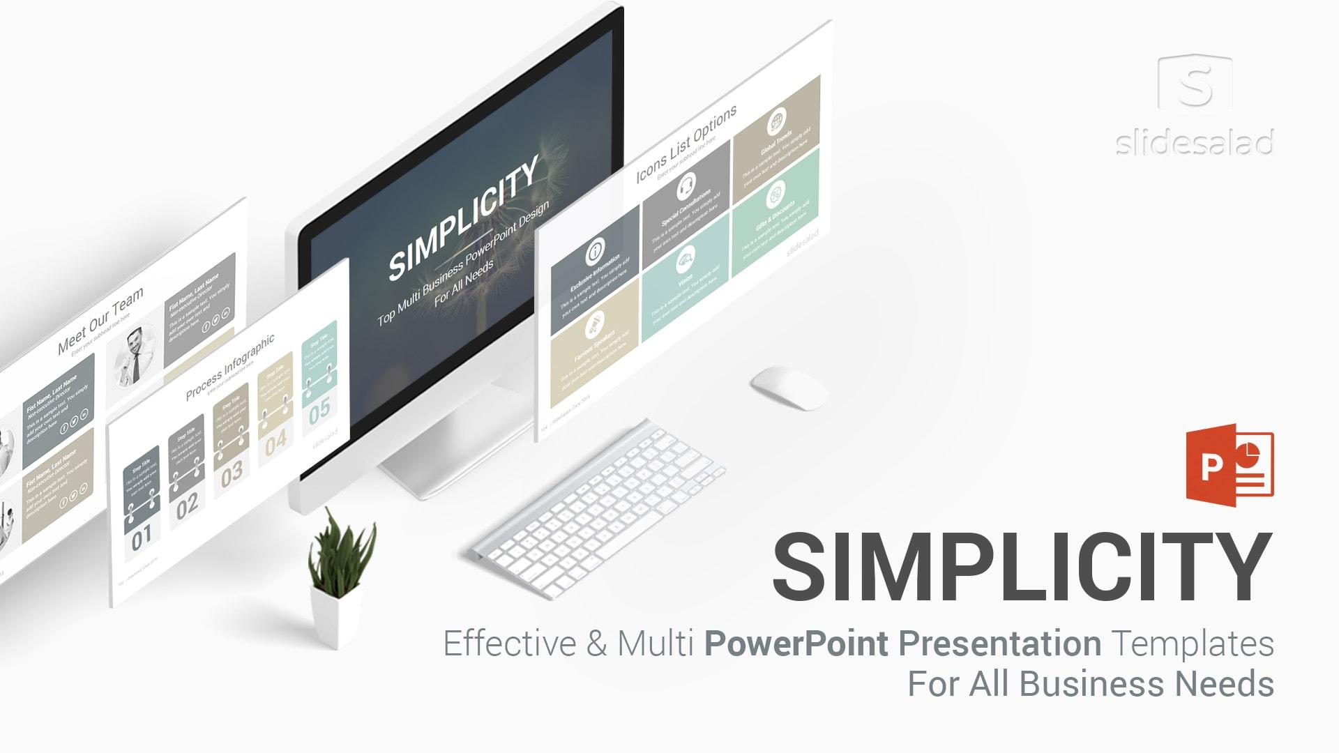 Simplicity Professional Business PowerPoint Templates – Best Modern PPT Presentation