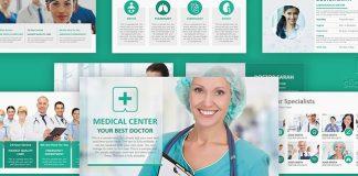 Modern Medical Healthcare PPT Slide Template – Medical PowerPoint Slideshow Theme