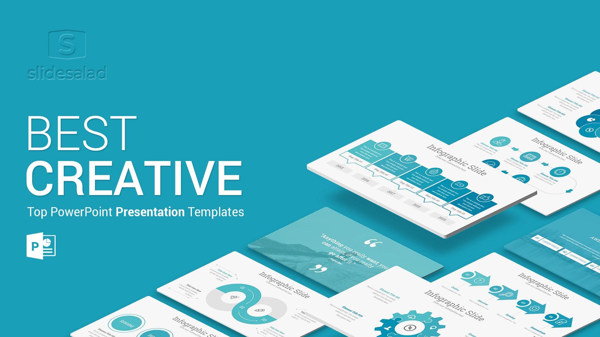 Creative Minimal PowerPoint Template