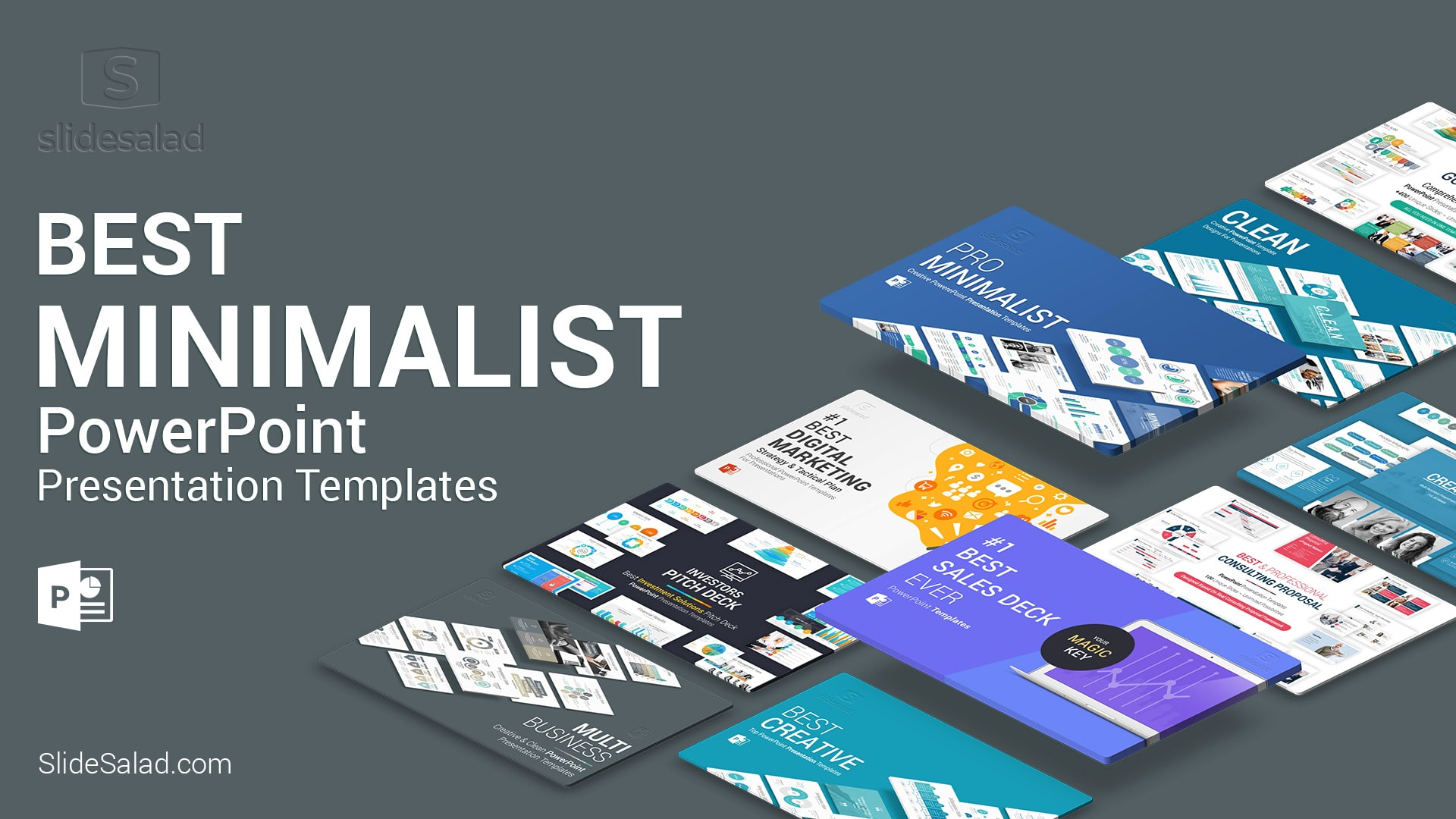 Minimalist PowerPoint Presentation Templates