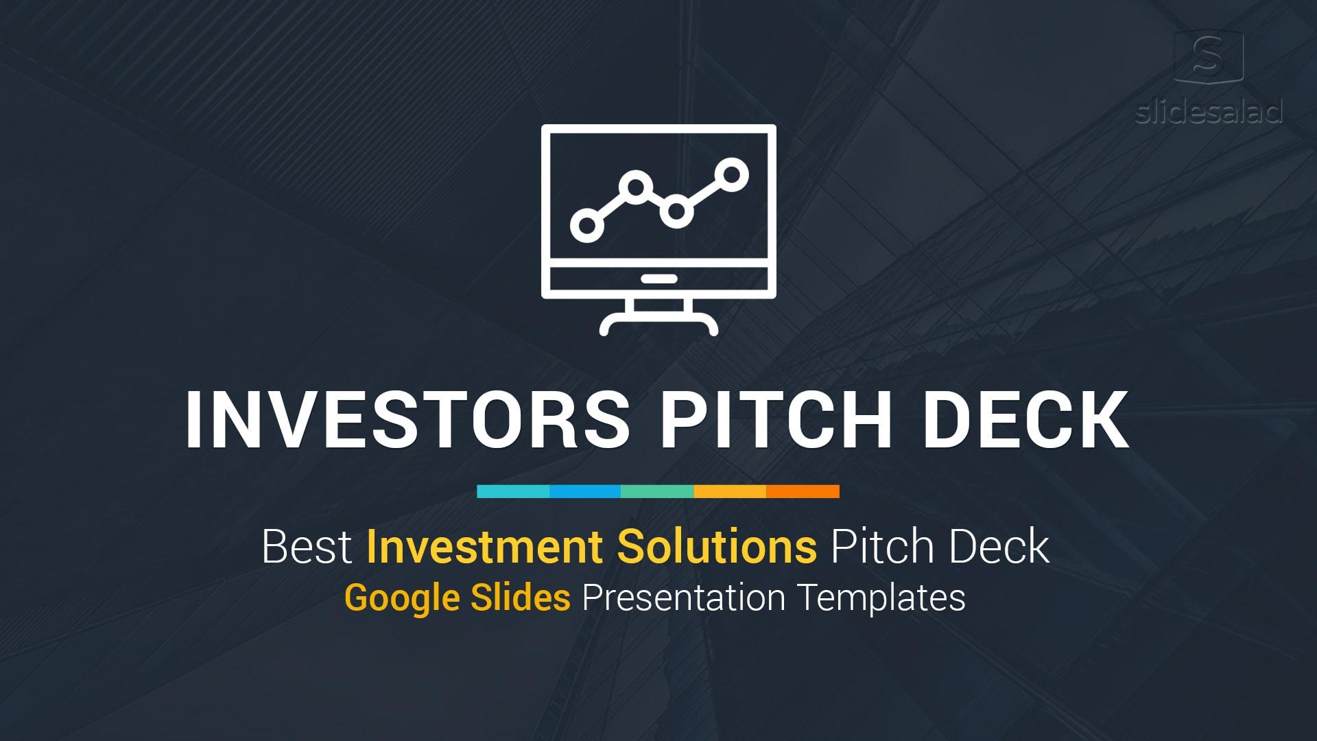 Best Investors Pitch Deck – Investment Proposal Google Slides Themes