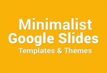 best minimalist Google Slides Templates Themes