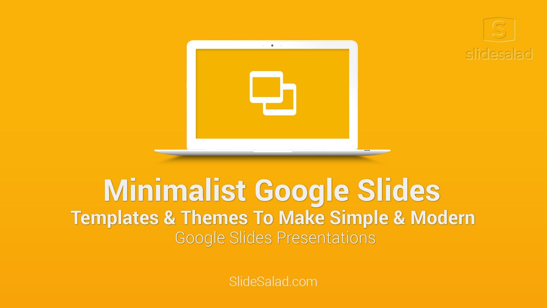 minimalist Google Slides Themes