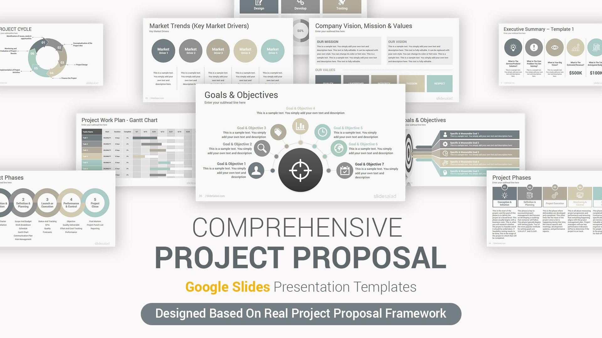 Best Project Proposal Google Slides Template - Creative Business Google Slides Template