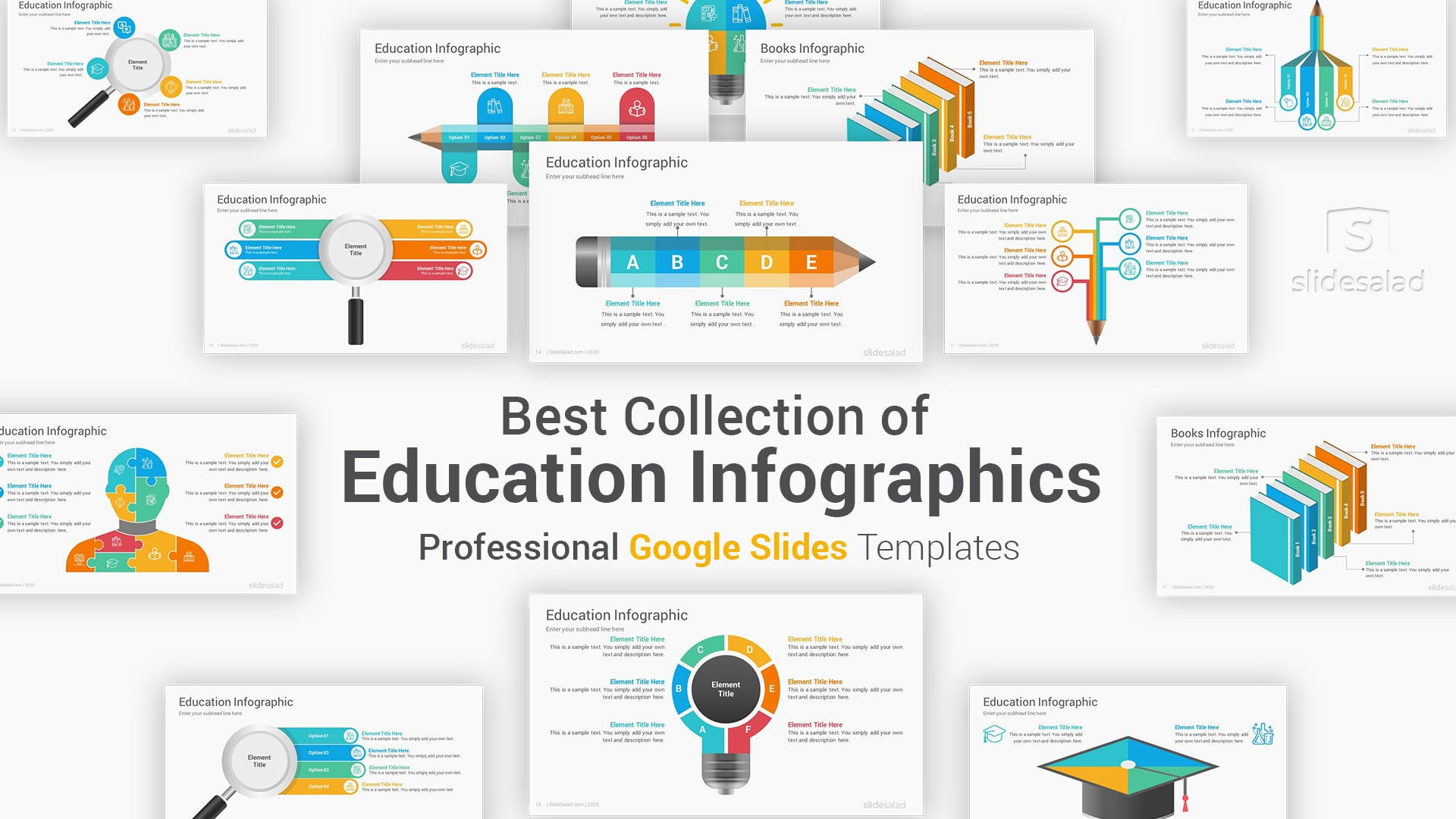 Education Infographics Google Slides Template