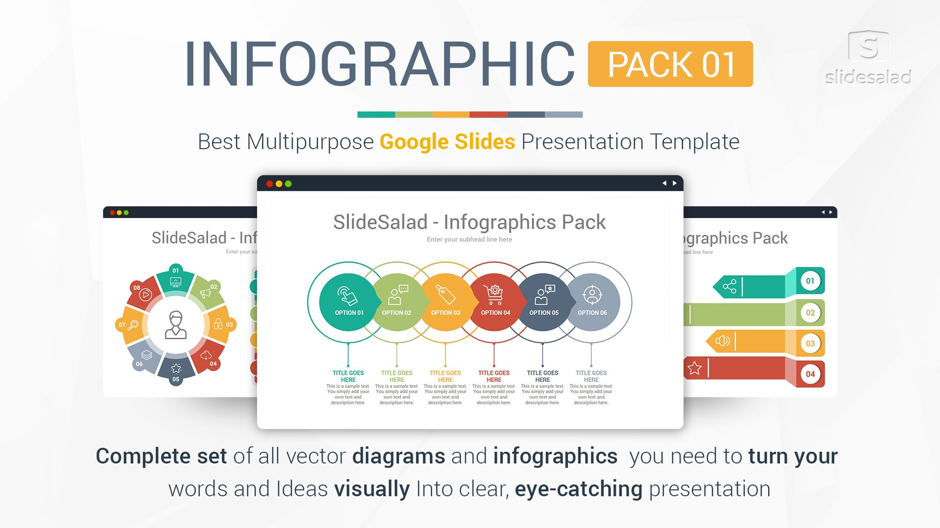 Top Infographics Google Slides Templates