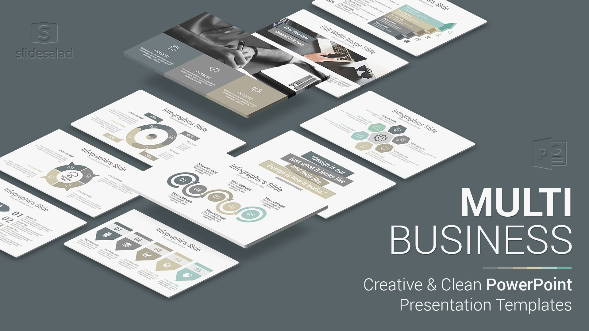Multi Business PowerPoint Presentation Template – Multipurpose PowerPoint Presentation Template