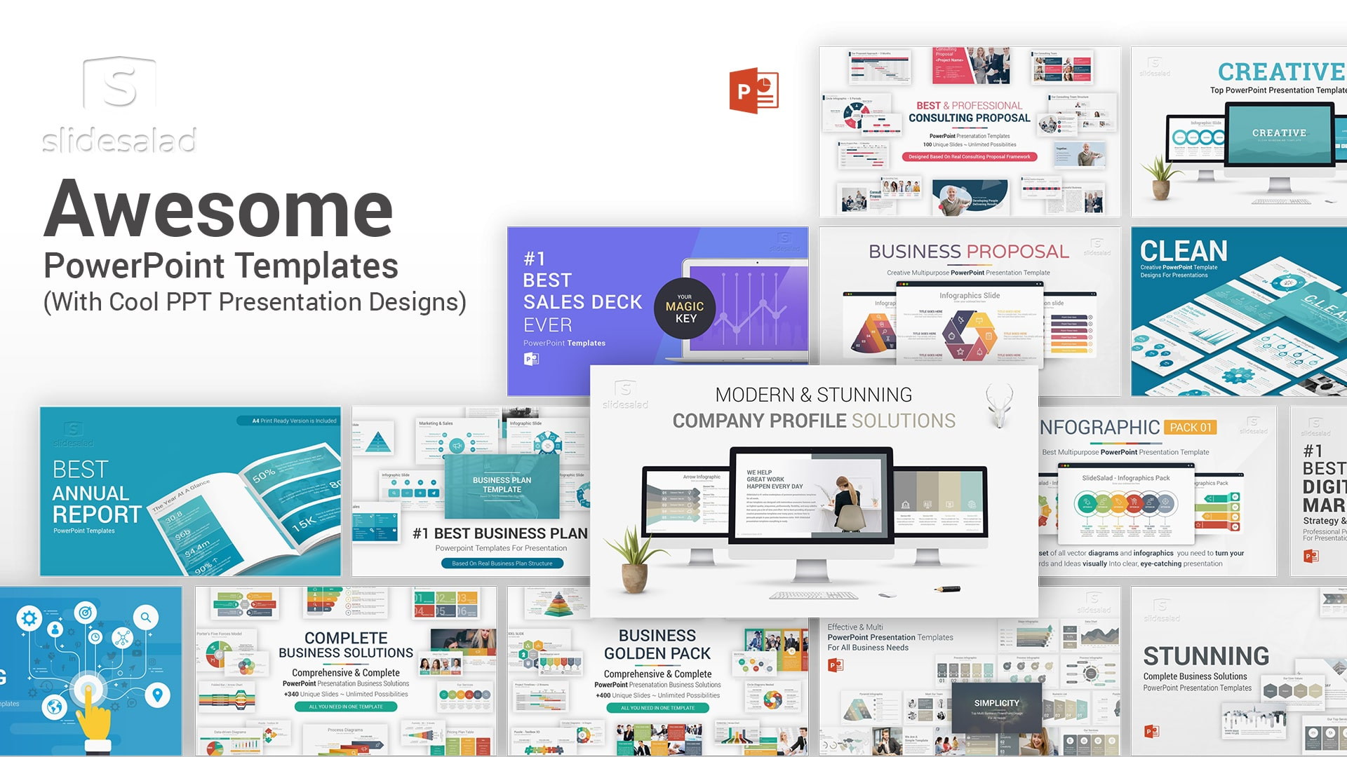 Awesome PowerPoint Templates for PPT Presentations