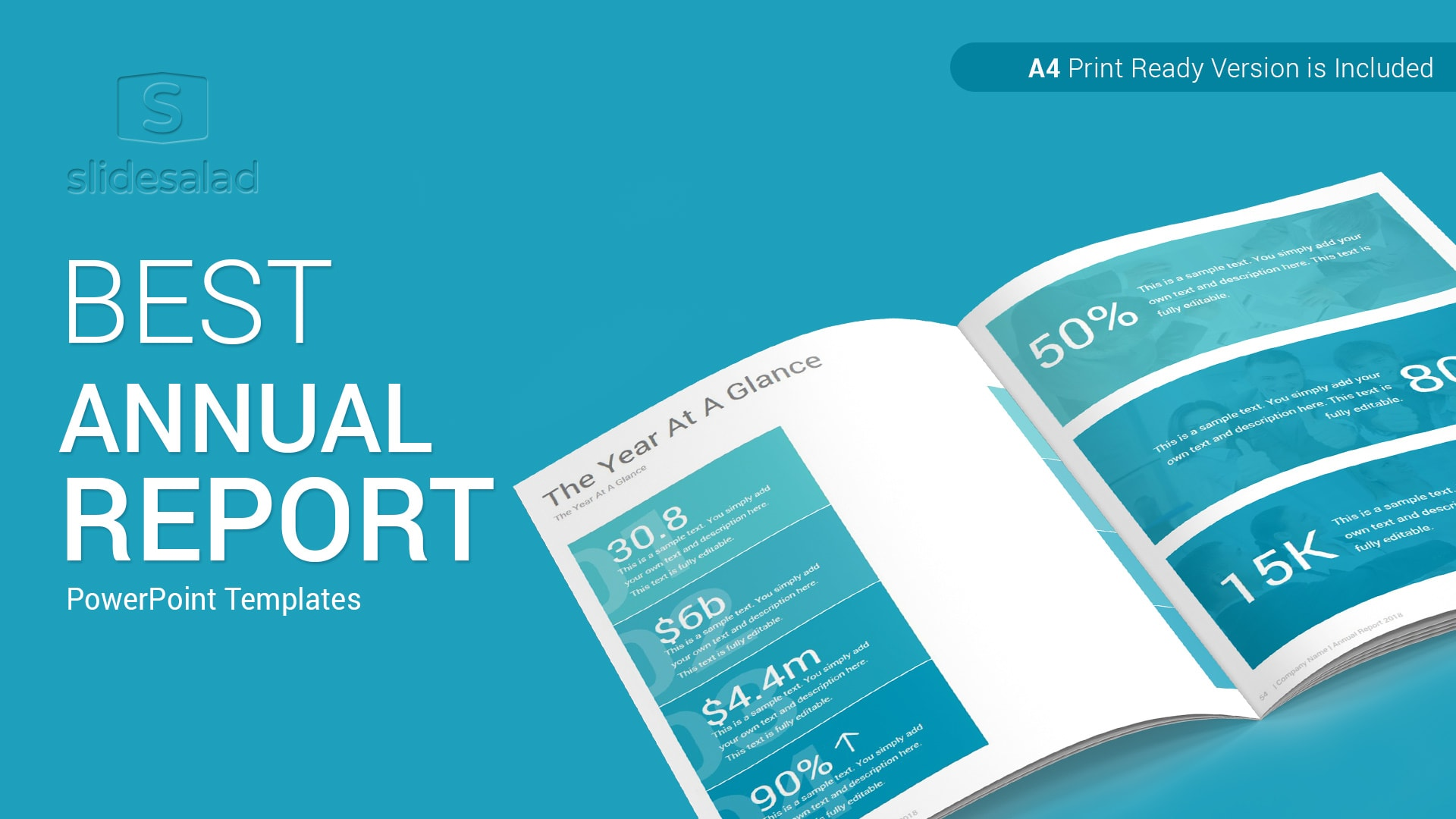 Annual Report PowerPoint Presentation Templates - Microsoft PowerPoint Template Designs