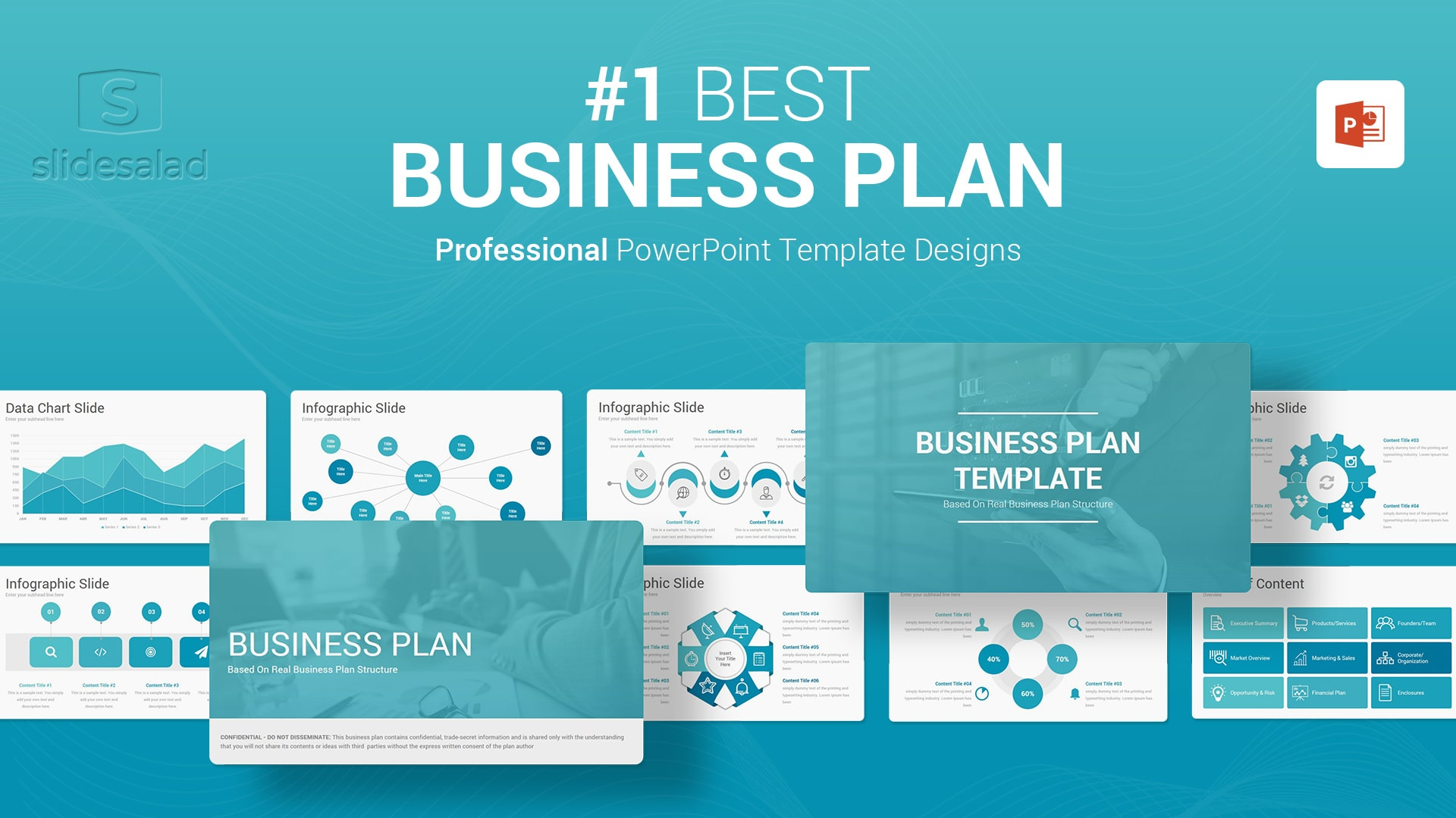Best Business Plan PowerPoint Presentation Template - Multipurpose PowerPoint Webinar Template Designs