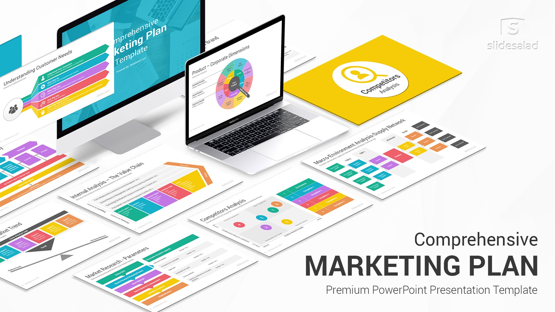 Best Marketing Plan PowerPoint (PPT) Template - Top Selling Awesome PowerPoint Templates